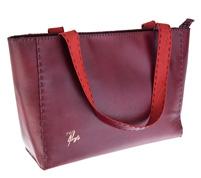 کیف دوشی زنانه چرم دست دوز نقاشی شده