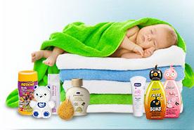 محصولات کودکان و نوزادان