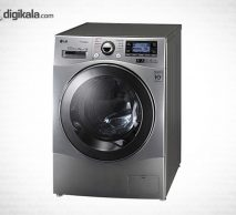 ماشین لباسشویی ال جی مدل WM-412SS با حجم 12 کیلوگرم